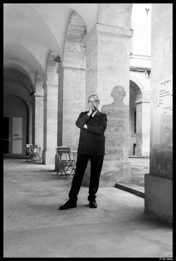 Jean-Paul Morandini. Montpellier Danse. © Ch. Ruiz