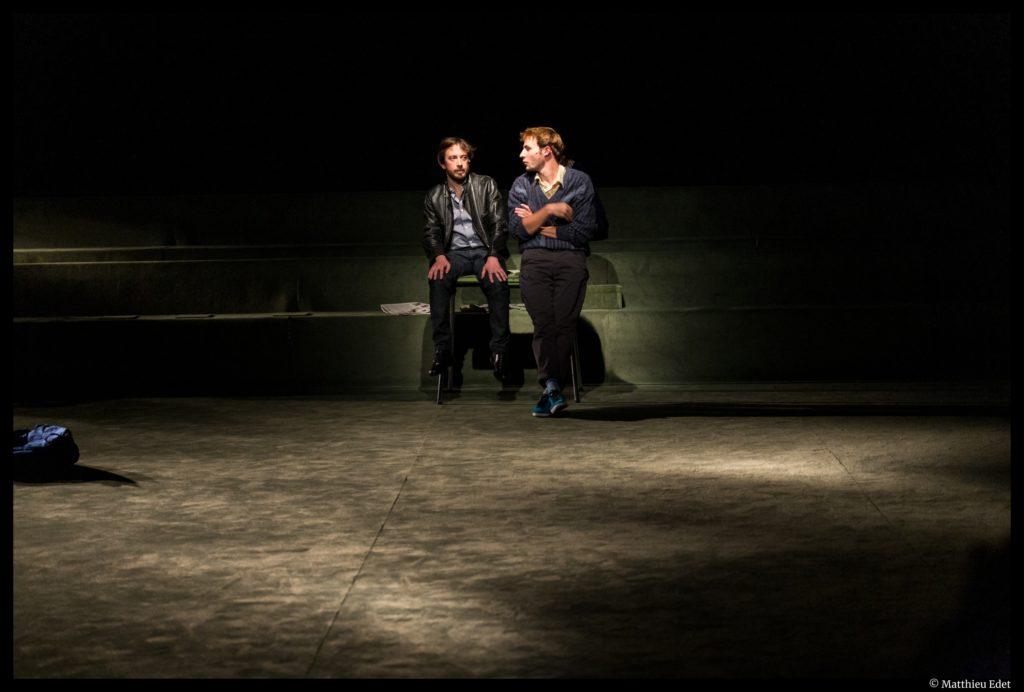 Ton père de Christophe Honoré. Mise en scène Thomas Quillardet. Comédie de Reims. © Matthieu Edet