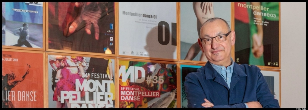 Jean-Paul Montanari. Montpellier Danse. © Ch.Ruiz