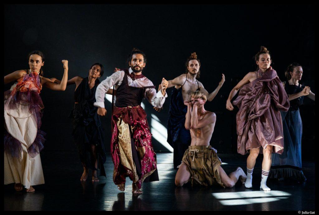 LOVETRAIN2020 d'Emmanuel Gat. Montpellier Danse. Jean-Paul Montanari. © Julia Gat
