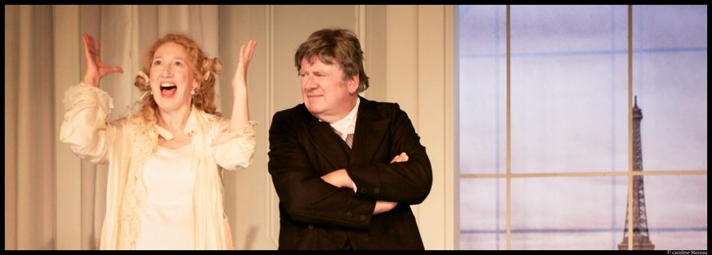 On purge bébé de Georges Feydeau. mise en scène d' Emeline Bayart. Théâtre de l'Atelier. © Caroline Moreau.