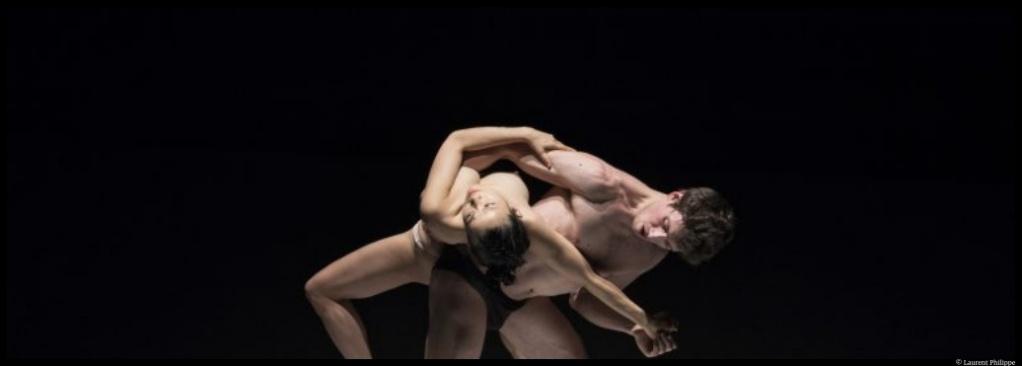 Embrase-toi de Kaori Ito et Théo Touvet. La Scala Paris. © Laurent Philippe