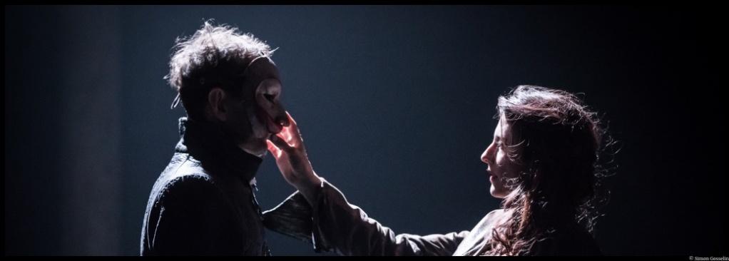 Fracasse d'après Théophile Gautier. Mise en scène de Jean-Christophe Hembert. Espace des arts. Grignan. © Simon Gosselin