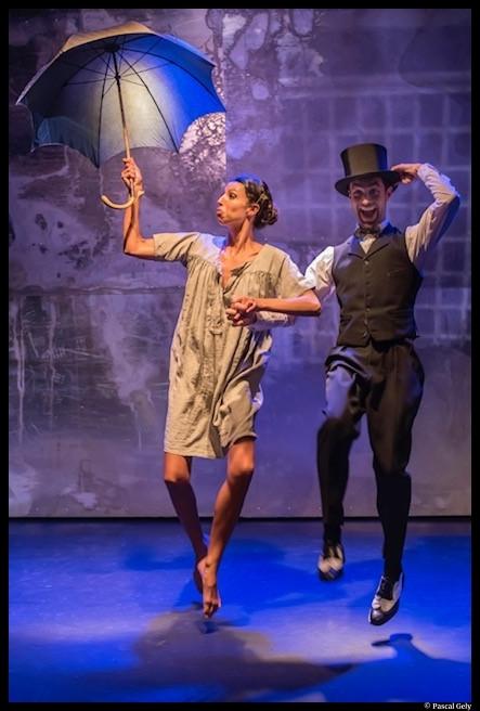 Joséphine B. de Xavier Durringer. Clarisse Caplan et Thomas Armand. La scène parisienne. © Pascal Gely