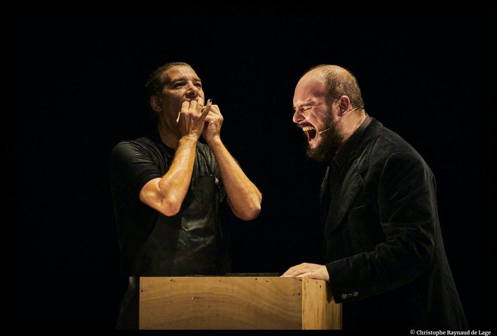 Mellizo Doble d'Israel Galván et Niño de Elche. Semaine d'Art en Avignon – Festival d'Avignon. © Christophe Raynaud de Lage