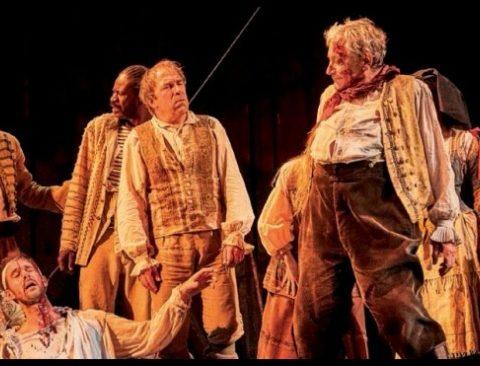 Les Fourberies du Scapin de Molière. mise en scène de Denis Poadalydès. © Christophe Raynaud de Lage