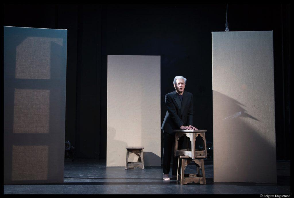 La messe là-bas de Paul Claudel. Didier Sandre. Singulis. Comédie-Française. ©Brigitte Enguerand