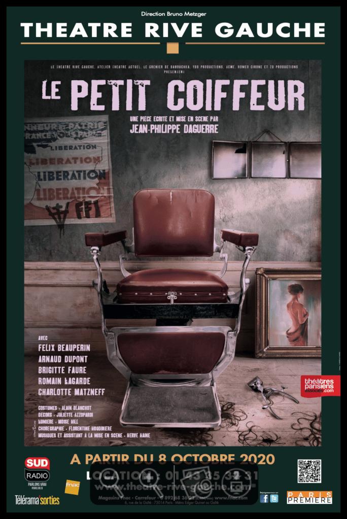 Le petit coiffeur de Jean-Philippe Daguerre. théâtre Rive-Gauche.  © Fabienne Rappeneau