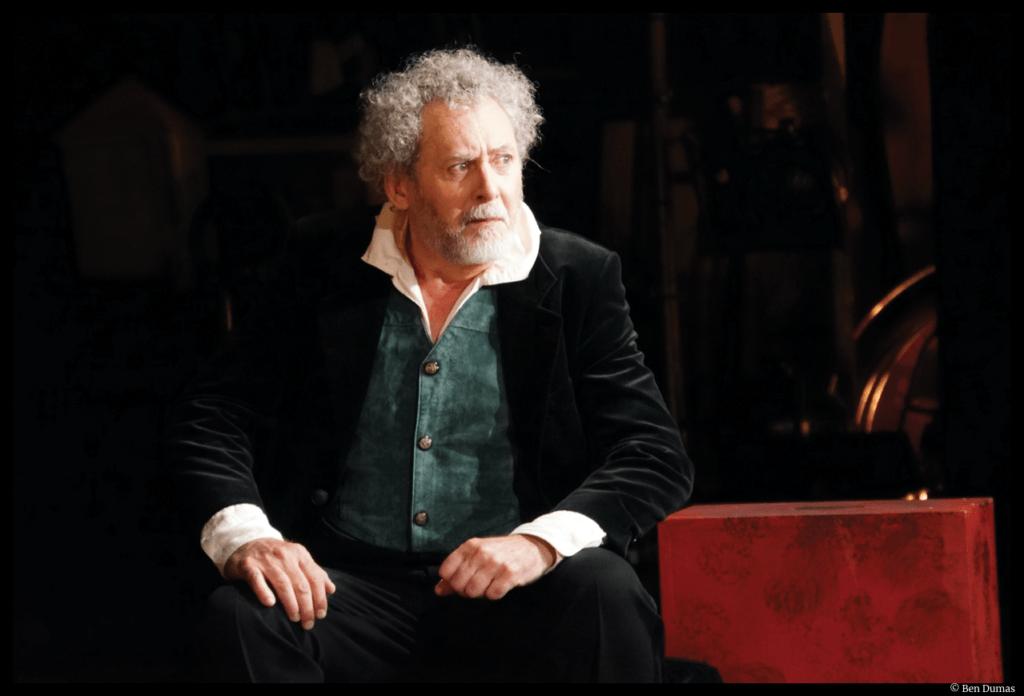 Les romanesques d'Edmond Rostand. Serge Noël. Mise en scène de Marion Bierry. Théâtre du Ranelagh. © Ben Dumas