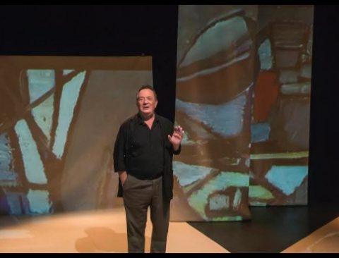 Nicolas de Stael, la fureur de peindre D'après la correspondance de Nicolas de Stael Lucernaire. Mise en scène et jeu de Bruno Abraham-Kramer. © Pascal Gely