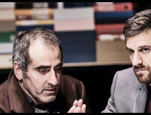 Bartleby d'Herman Melville. Mise en scène Rodolphe Dana et Katja Hunsinger. avec Adrien Guiraud. Théâtre de Lorient. © Agathe Poupeney