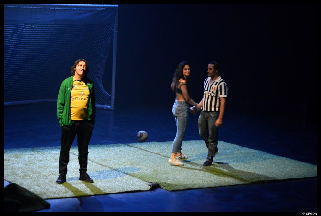 Dans la foule de Laurent Mauvignier. Mise en scène de Julien Bouffier. Théâtre de Jean Vilar de Vitry sur Seine © OFGDA