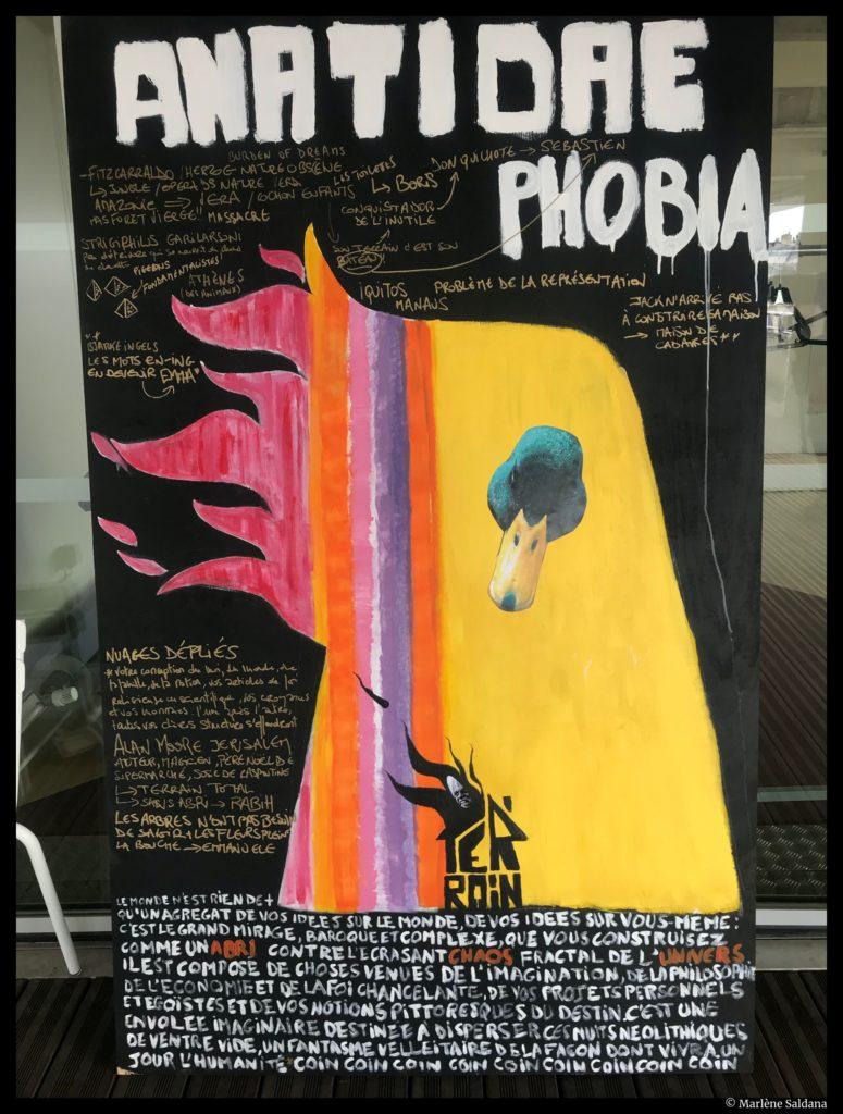 Poster de et par @Marlène Saldana
