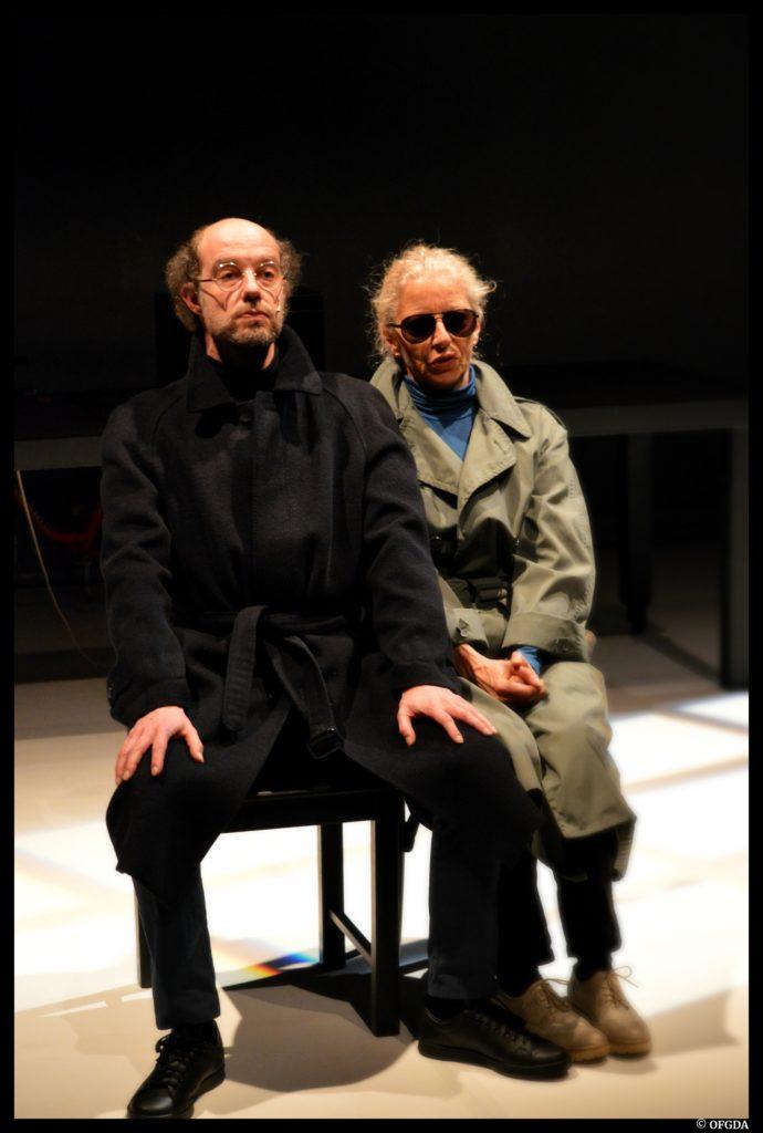 W ou Le souvenir d'enfance de Georges Perec. Olivier Balazuc & Isabelle Gazonnois. Le Moulin du Roc © OFGDA