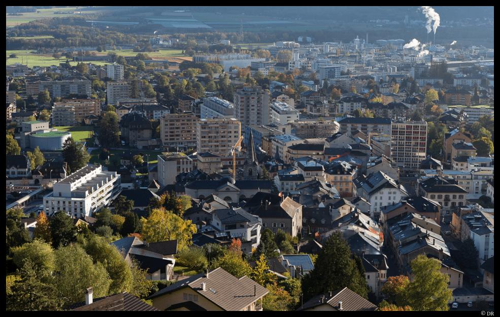 Ville de Monthey © DR