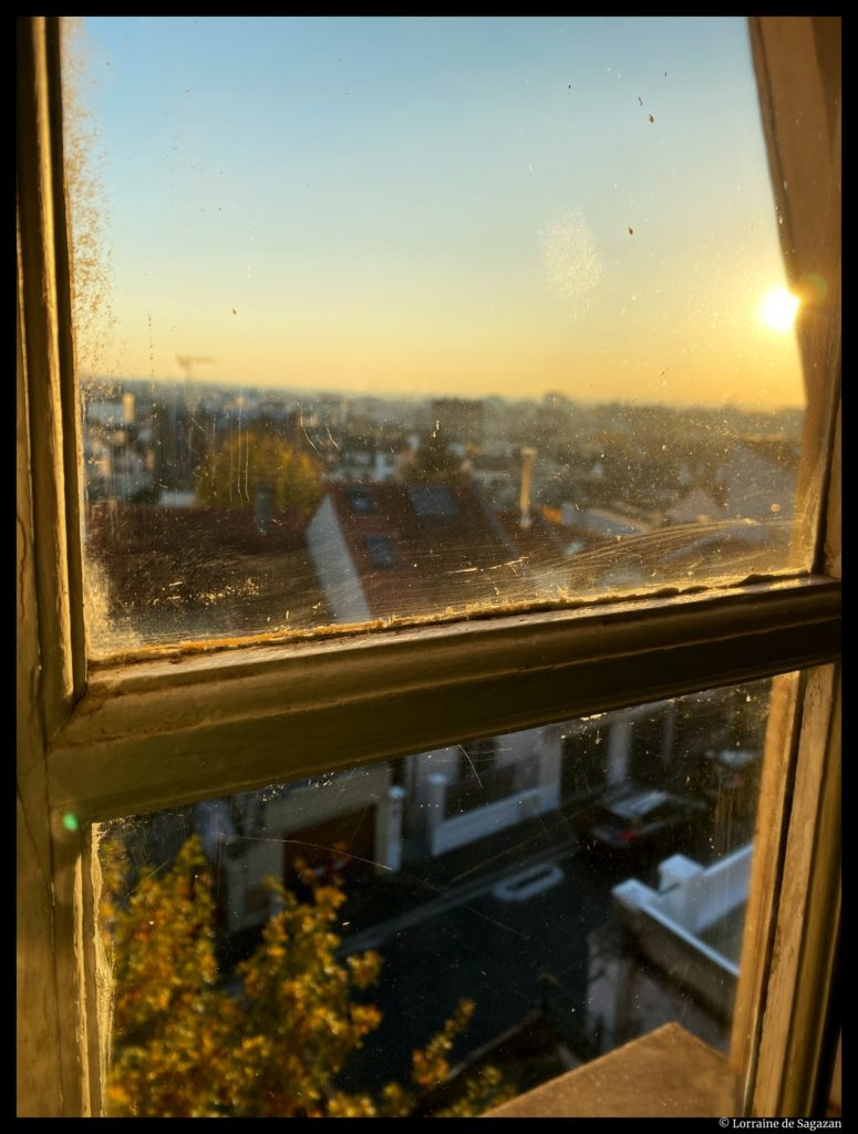 Vue fenêtre ©Lorraine de Sagazan