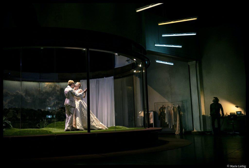 La Double Inconstance de Marivaux. Mise en scène de Galin Stoev. avec Clémentine Verdier ©Marie Liebig