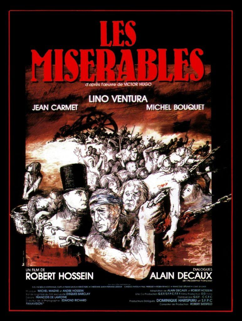 Les Misérables de Victor Hugo par Robert Hossein © DR