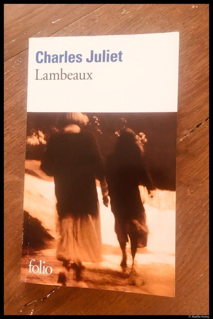Lambeaux de Charles Juliet ©Maëlle Poésy