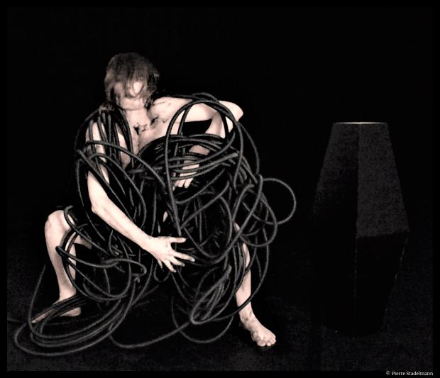 Après Alien de Pauline Tremblay, Festival Trajectoires, Maison des arts de Saint-Herblain. ©Pierre Stadelmann