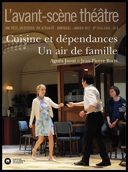 Cuisines et dépendances et un Air de Famille publiées à l'Avant-scène théâtre