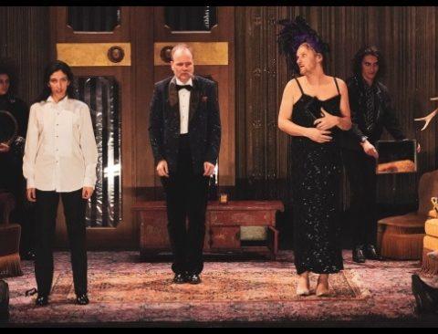 Hamlet de William Shakespeare. Mise en scène de Gérard Watkins. TnBA. © Pierre Planchenault