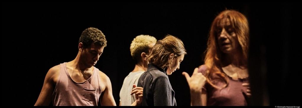 Le Cabaret des absents de François Cervantes. théâtre du Gymnase. © Christophe Raynaud de Lage