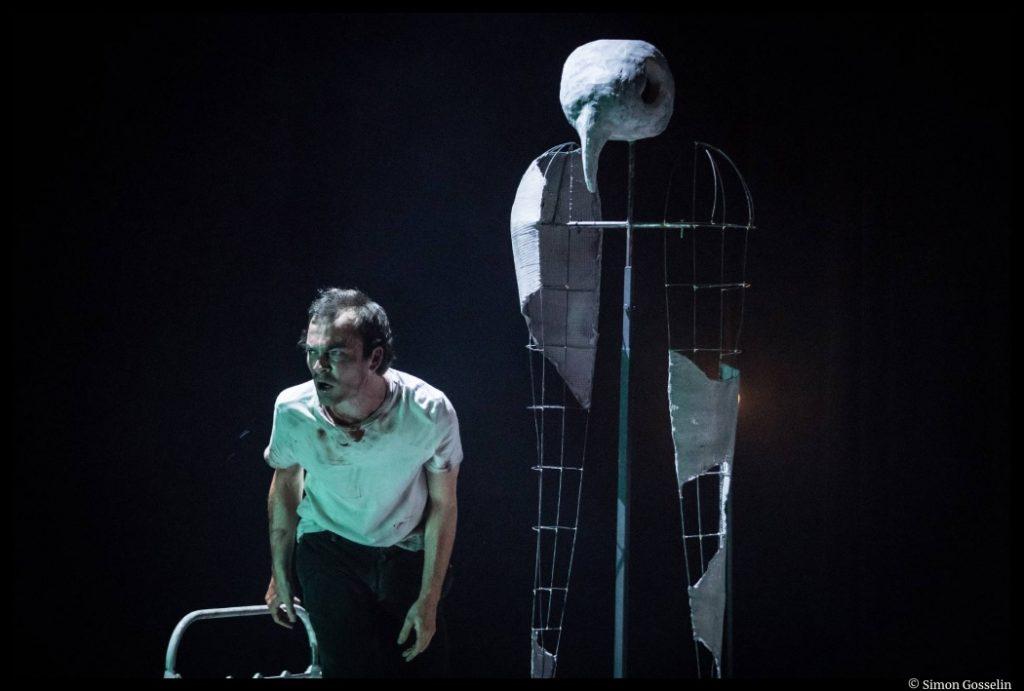 Les Etoiles de Simon Falguières. , Charlie Fabert. Théâtre du Nord © Simon Gosselin