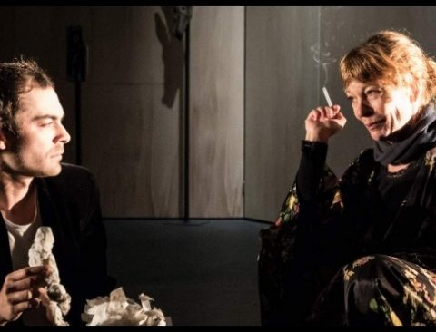 Les Etoiles de Simon Falguières. Agnès Sourdillon, Charlie Fabert. Théâtre du Nord © Simon Gosselin