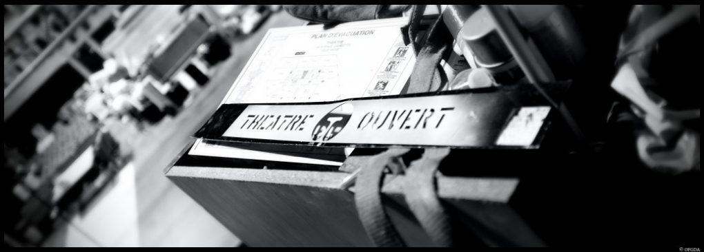Visite du chantier du Théâtre Ouvert, 159 Avenue Gambetta © OFGDA