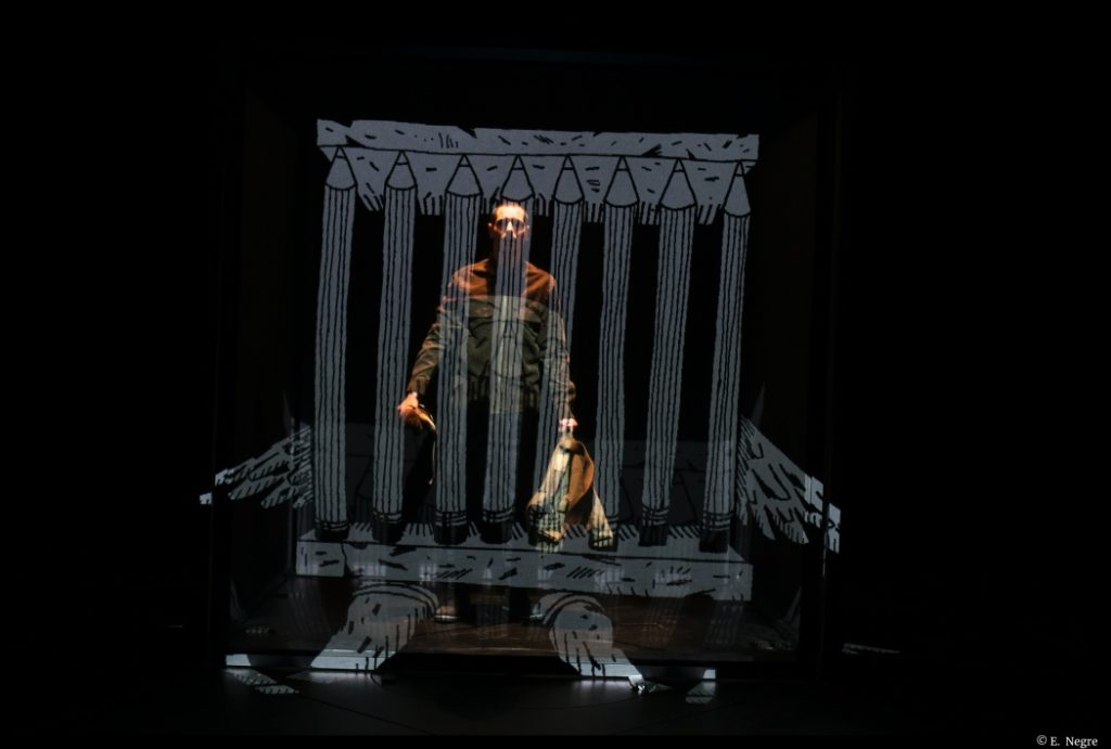 Le 20 novembre de Lars Norén. Misen en scène de Samuel Charieras. TNN. © E. Negre