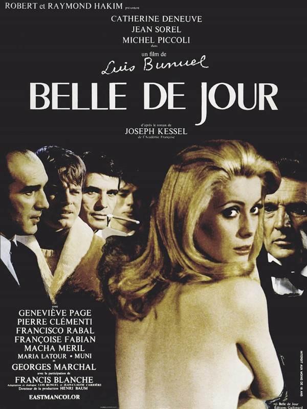 Belle de jour de Luis Buñuel. Catherine Deneuve. Scénario de Jean-Claude Carrière. © DR