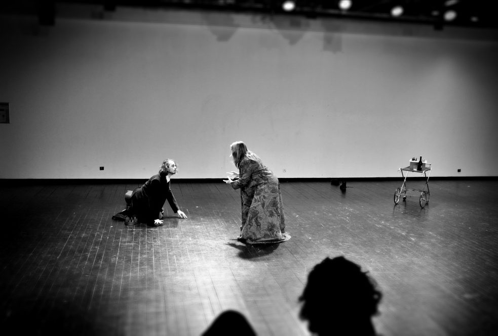 Un voyage Shakespearien. Cécile Garcia Fogel. Philippe Jamet. Ecole du Nord. Adèle Choubart © OFGDA