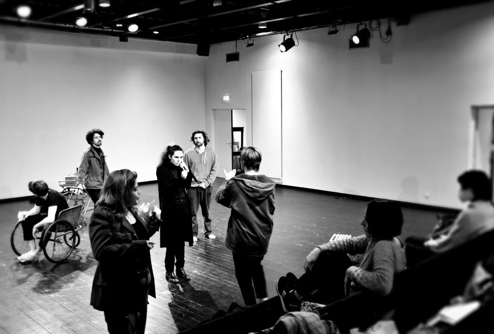 Un voyage Shakespearien. Cécile Garcia Fogel. Philippe Jamet. Ecole du Nord. Paola Valentin. © OFGDA