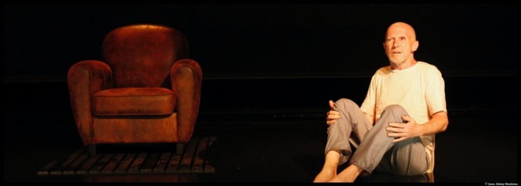 Les enfants éblouis d'Yan Allegret. Yann Collette. Théâtre de l'Echangeur. © Jean-Rémy Moulona