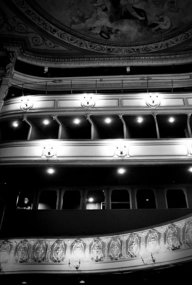 Le Cabaret des absents de François Cervantes. théâtre du Gymnase. © OFGDA