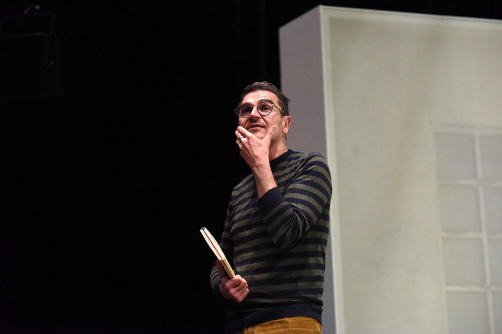 Tout mon amour de Laurent Mauvignier. Mise en scène d' Arnaud Meunier. Comédie de Saint-Etienne. © Sonia Barcet