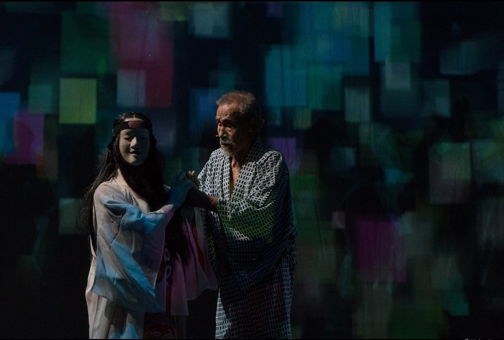Sleeping de Serge Nicolaï, librement inspiré du roman Les Belles Endormies de Yasunari Kawabata. Monfort Théâtre © Weina Venetz