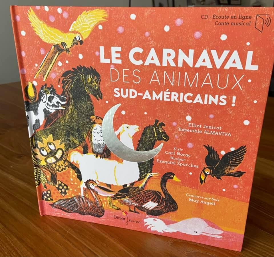 Elliot Jenicot a participer en tant que conteur fantasque au carnaval des animaux sud-américains © Elliot Jenicot