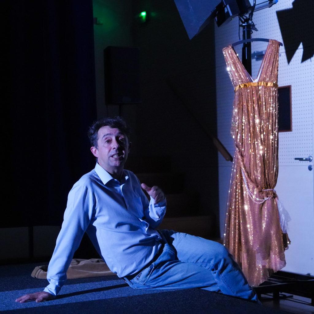 Pierre Maillet dans Une Vie d'acteur © Jean-Louis Fernandez