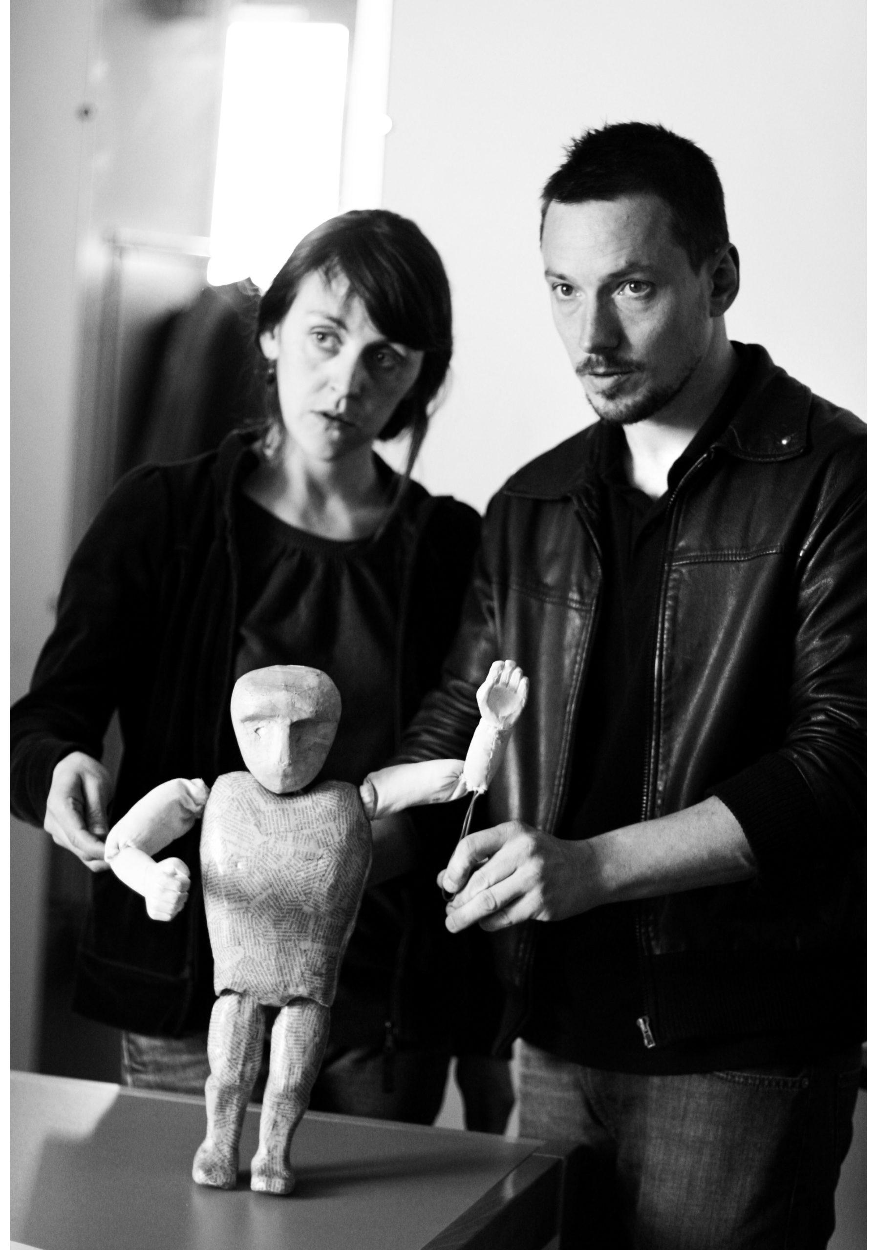 Emmanuelle Hiron et David Gauchard © Dan Ramaën