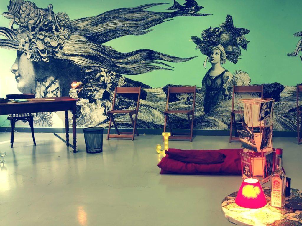 Foyer de l'Enfance de Tandou où la compagnie d'Estelle Savasta a présenté Nos Lettres jamais écrites © Estelle Savasta