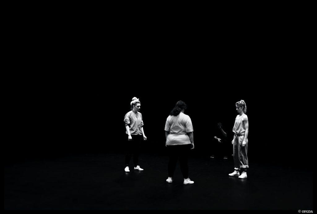 Les trois comédiennes de l'AtelierCité © OFGDA