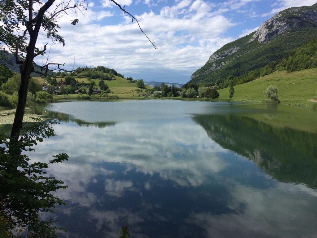 Le lac de la Thuile en Savoie © Pauline Ribat
