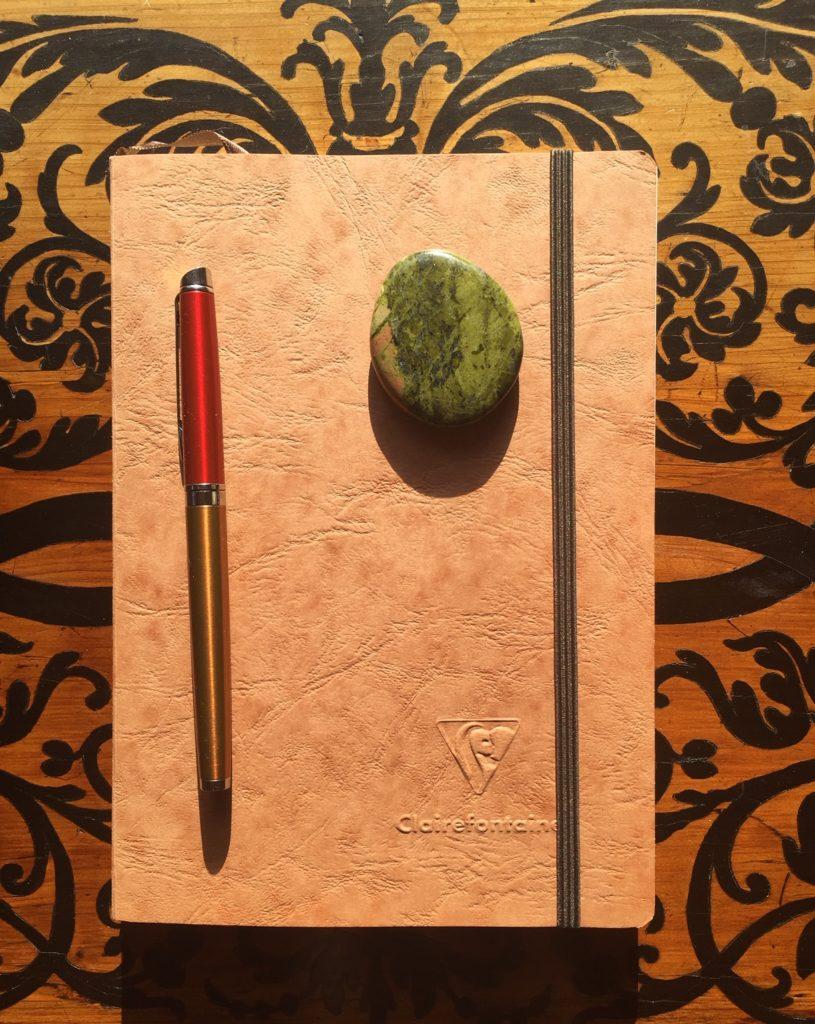 Le kit d'écriture ©Pauline Ribat