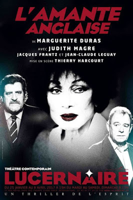 au Lucernaire, il joue face à Judith Magre dans l'Amante Anglaise de Duras. mise en scène de Thierry Harcourt © DR