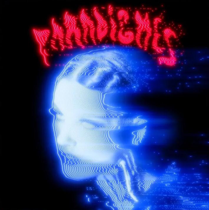 Pochette de Paradigmes, troisième album de La Femme