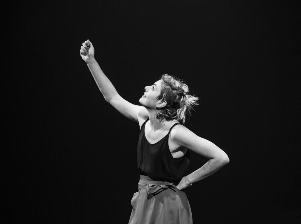 Eva Rami en répétition © Eric Frahon