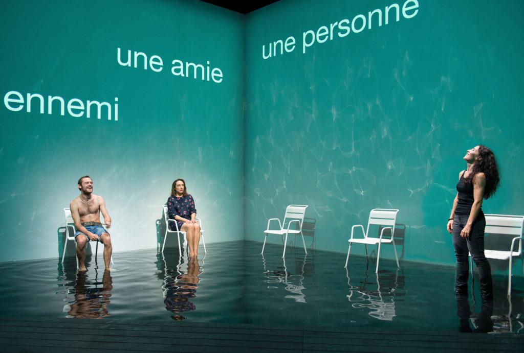 Chloé Rejon dans Nous pour un moment d'Arne Lygre Mise en scène de Stéphane Braunschweig © Elizabeth Carecchio