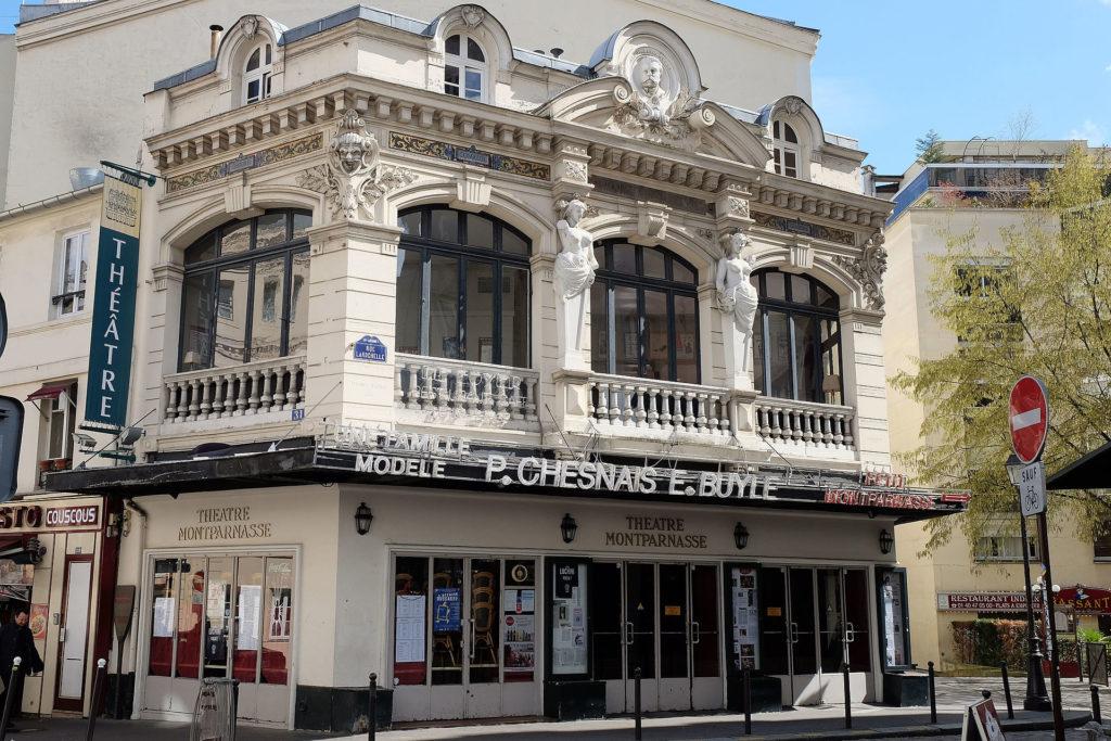 Théâtre Montparnasse en Avril 2019 © Papagon
